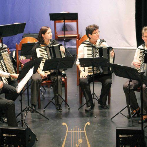 Solistengruppe des Akkordeon-Orchester der Stadt Leer